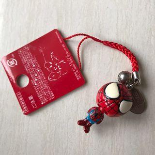 Spiderman keychain 蜘蛛俠鎖匙扣