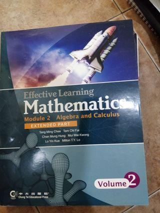 Effective learning mathematics module 2 Algebra and calculate volume 2