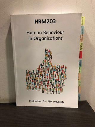 Human Behaviour in Organisations