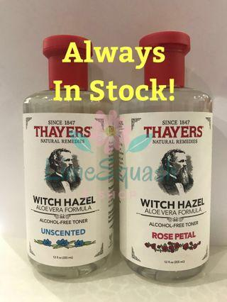 THAYERS Witch Hazel - Unscented, Rose Petal