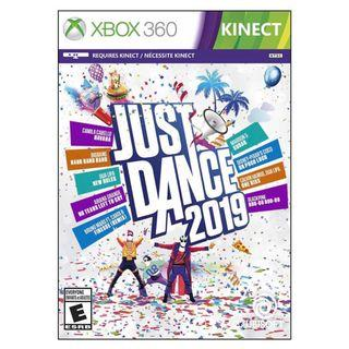 In stock! Just Dance 2019 Xbox 360 Kinect Game