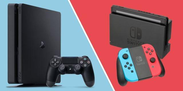 Trade in your Nintendo Switch for PS4 Slim
