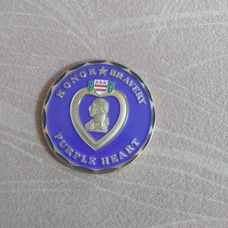🚚 Purple Heart Commemorative Coin