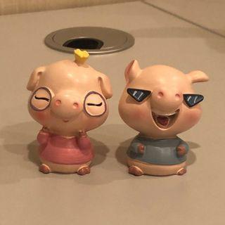 可愛小豬擺設