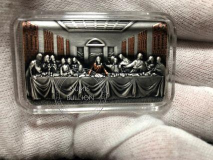The Last Supper 2 Oz Silver Coin
