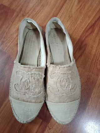 Authentic Chanel single sole(size 40 fit 39)