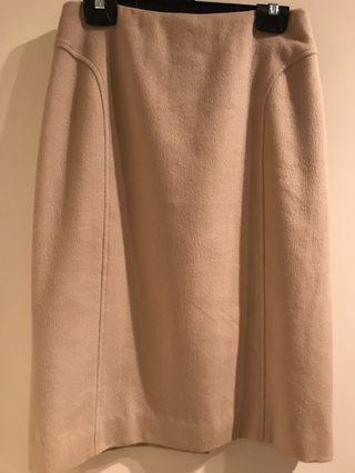 Tse cashmere off white skirt size 2