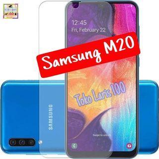 Anti Gores Samsung M20 - Pelindung Layar Bening
