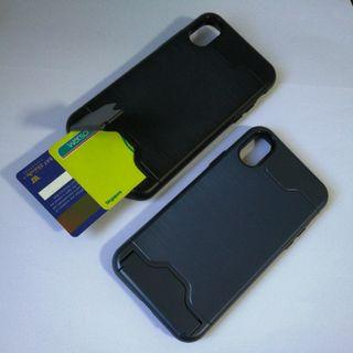 iPhone X Casing with Card Holder Full Cover