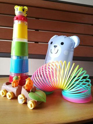 Toy Piles Cup and others