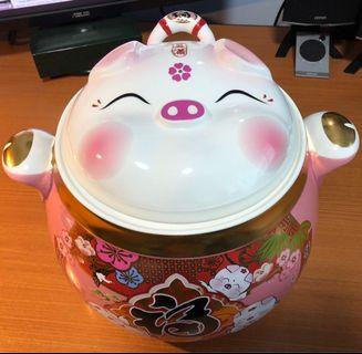 🚚 PIG Prosperity Rice Bucket - 猪米桶