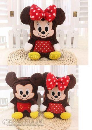 Mickey, Minnie and Gelatoni Blanket