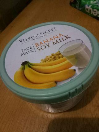 Velrose secret banana soy milk