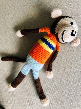 🚚 Handmade monkey
