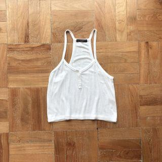 Brandy Melville Angelica Tank in White