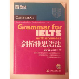 IELTS 劍橋雅思語法 with answer and CD