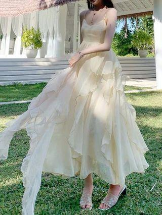 Po: fairy dress n translucent outerwear