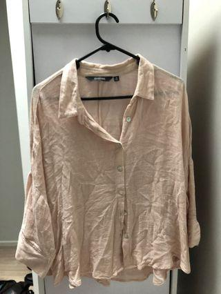 Glassons Pink Button Shirt