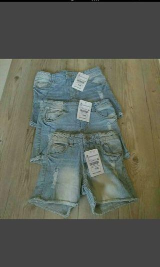 全新 童牛仔短褲