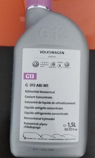 Coolant G15 Audi VW Volkswagen skoda seat Peugeot Mercedes BMW Toyota Honda kia hyundai