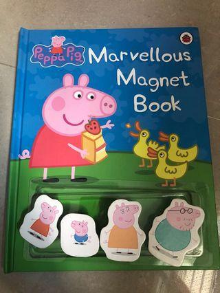 🚚 Peppa Pig Marvellous Magnet Book