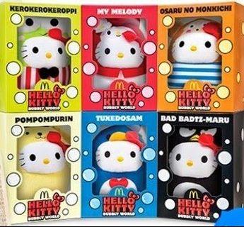 Hello Kitty Bubbly World Collection