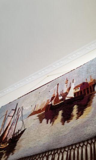 法國手織掛畫
