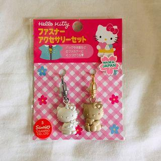 Hello Kitty 吊飾 掛飾 拉鍊扣