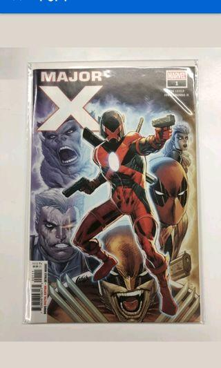 Major X #1 1st cover liefeld