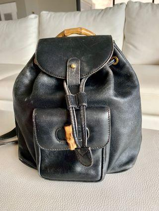 Gucci Vintage Bamboo backpack