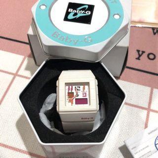 Casio Baby-G 女錶 白 二手 運動錶