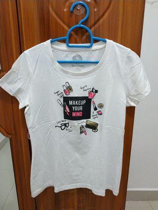 Tshirt Bossini Putih