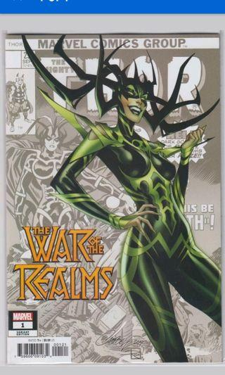 War of the realms#1