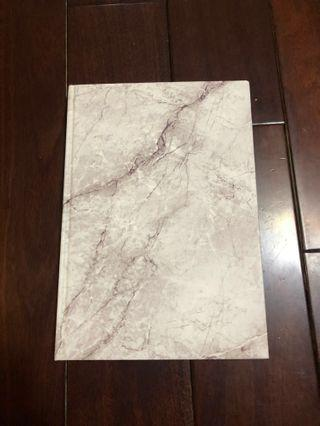🚚 大理石紋筆記本