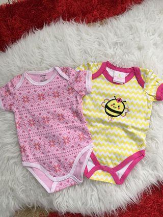 set baby romper size 6 months