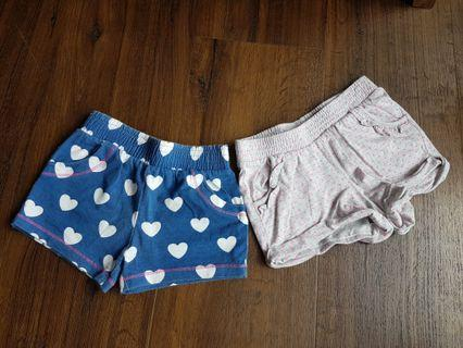 Shorts for baby girls
