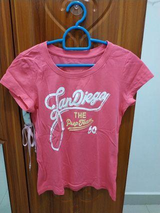 Tshirt Pink Hangten