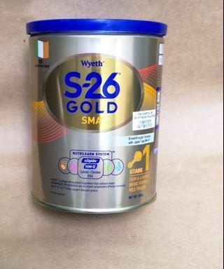 惠氏 wyeth s26 S-26 gold 金裝 1號   雀巢  能恩