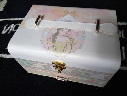 Disney 音樂盒 收納盒( 美女與野獸)