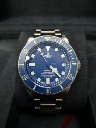 Tudor Pelagos Blue Titanium 42mm Automatic