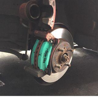 Project U Front Brake Pad Perodua Alza