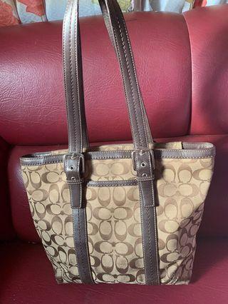 Orig. COACH Monogram Bag