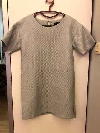 Sack Dress Grey