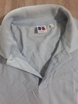 #EndgameYourExcess preloved Russell light blue cotton shirt
