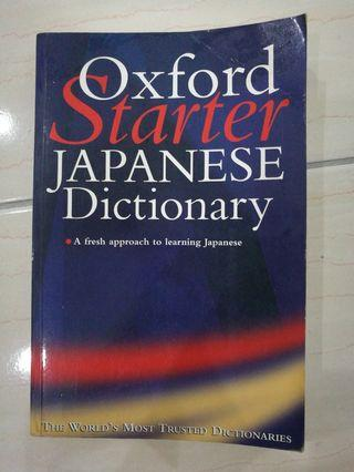Oxford Starter Japanese Dictionary