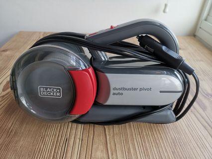 Black And Decker Dustbuster Pivot 12V Car Vacuum Cleaner PV1200AV