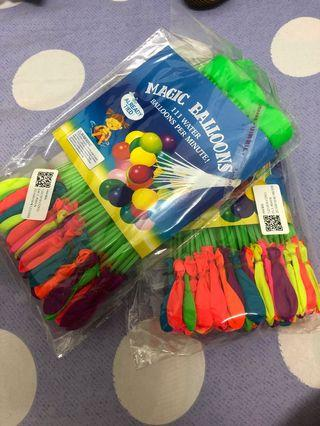 Songkran Sale ~ 2 pkt $10😇😇 water balloon 222pcs