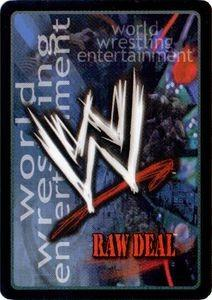 WTS cheap wwe raw deal cards