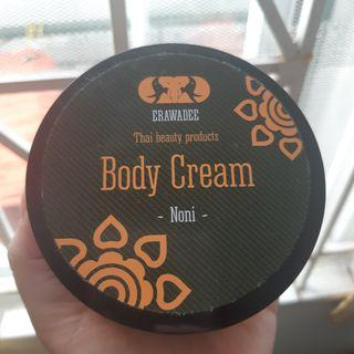 Body cream bangkok