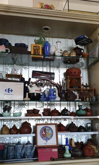 Garage sales - teapots and collectibles